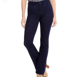 NYDJ Marilyn Straight Leg 4 Dark Wash Jeans